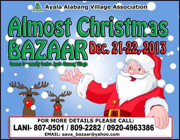 Almost Christmas Bazaar